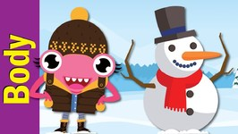 Lets Make A Snowman - Winter Song For Kids
