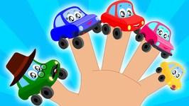 Car Finger Family - Little Red Car - Finger Family Song