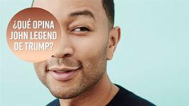 John Legend opina sobre Trump