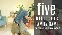 5 Family Games To Play In Your Living Room. No prep needed