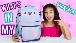 What Is In My Backpack 2018 - Back To School Supplies Haul