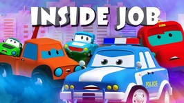 Inside Job - Road Rangers Cartoons - Videos For Children - Kids Channel