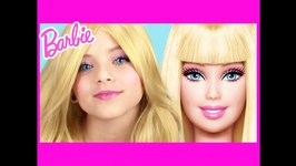 Barbie Makeup Tutorial - KittiesMama And NaturesKnockout Collab