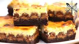 Kit Kat Brownie Cheesecake / 3 Desserts in 1