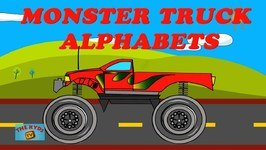 Monster Truck Alphabets
