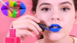 DIY Nail Polish Lip Gloss - Inspired by Karina Garcias DIY NAIL POLISH LIPSTICK - Lipstick Bottles