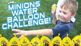 Minions Water Balloon Challenge - Bunch O Balloons Zuru