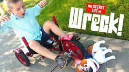 Secret Life Of Pets Bike Wreck An Mobo Mity Bike Toys Review Funny Fail Video