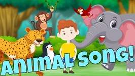 Animals in Action - Brain Break and Body Movement Song for Kids