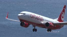 AirBerlin Flight Fails Landing Attempt at Madeira Airport