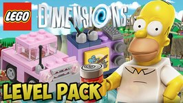 LEGO Dimensions Simpsons - A Springfield Adventure - Level Pack - Walkthrough  Unboxing (71202)