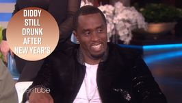 Diddy Admits He's Drunk While Taping Ellen
