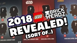 2018 BrickHeadz Revealed - Sort of - Brick Show News