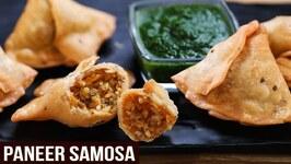 Crispy Paneer Samosa / MOTHER'S RECIPE / How To Make Samosa Chutney / Easy Samosa Recipe