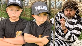 The Sketchy Escapee Cop Impersonator Pretend Play Fun Kids Video