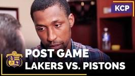 Kentavious Caldwell-Pope On The Defense, Brandon Ingram In Win Over Pistons