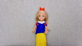 Play-Doh Doll Snow White