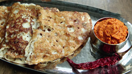 Oats Dosa And Garlic Chutney Recipe By Lalit 205 Cast - Star Pravah