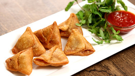 Keema Samosa Recipe-Minced Meat Samosa- The Bombay Chef - Varun Inamdar