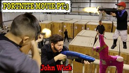 FORTNITE MOVIE with JOHN WICK - D and D SQUAD BATTLES