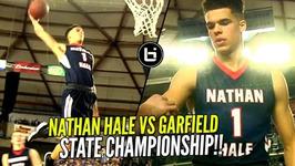 Nathan Hale Vs Garfield State Championship Michael Porter Jr Nasty Off The Backboard Dunk
