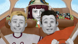 S01 E10 - Gone Fishing, 100 Yard Lash - Angela Anaconda