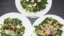 Kale And Brussels Sprout Salad