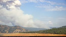 Timelapse Footage Shows Ponderosa Fire Burning in California