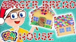 GINGER BREAD HOUSE - Christmas Crafts with Crafty Carol - Crafts for Kids - Christmas Crafts