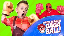 Wreck It Ralph 2 Gaga Ball Family Battle