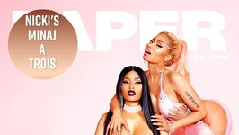 Nicki Minaj Fails To Shock With Paper Magazine Cover