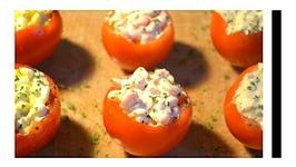 Recette Entrée Avec Tomates : Thon, Maïs, Crevettes