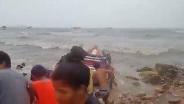 Boats Damaged as Tropical Storm Bret Hits Margarita Coast