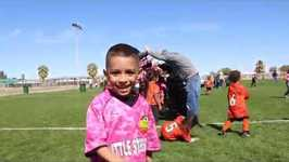 DEION'S EXCITING SOCCER GAME (Little Strikers vs. Real Madrid)