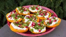 Gluten Free Persimmon Appetizers