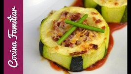 Pinchos de calabacín gratinados con queso - Recetas para dieta
