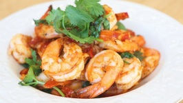 The Best Garlic Shrimp - Quick and Delicious