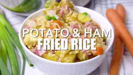 Potato And Ham Fried Rice