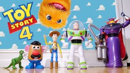 Toy Story 4 In Real Life! Disney Toys - Toy Story 4 Ending - Live Action Toy Story