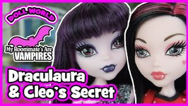 Monster High Doll Show My Roommates are Vampires Ep4