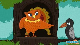 Owl And Crow Story - Panchatantra Stories In English - Educational Videos