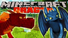 Minecraft - HOW TO TRAIN YOUR DRAGON - Baby Dragons 1