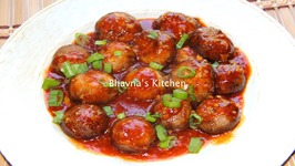 Schezwan Mushrooms Manchurian Air Fryer