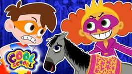 Drew Pendous Saves Little Ponies From Raina Gloom - A Stupendous Drew Pendous Superhero Story