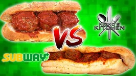 Subway Meatball Sub Vs Homemade - Italian Herbs And Cheese Bread Recipe