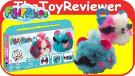 DIY Fluffables Cherry Blueberry Double Kit 2-Pack Craft Plush Unboxing Toy Review