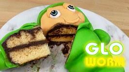GLO WORM Cake - Eat Your Childhood