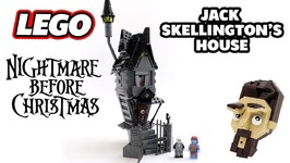 Lego Nightmare Before Christmas Jack Skellingtons House MOC Review