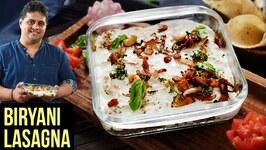 Biryani Lasagna Recipe  How To Make Chicken Biryani Lasagna  Lasagna Recipe By Prateek Dhawan