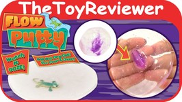 Flow Putty DuneCraft Mini Science Kits Bounce Melt Unboxing Toy Review